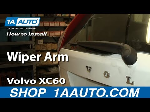 How To Install Replace Rear Wiper Arm Volvo XC60
