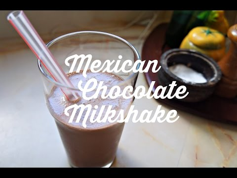 How to Make a Mexican Chocolate Milkshake