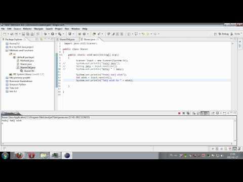 Kurs programowania Java, lekcja 7: Scanner - wprowadzanie danych
