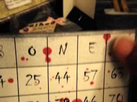 Alter Bingo Card Swap over at Minialbumscrap.ning