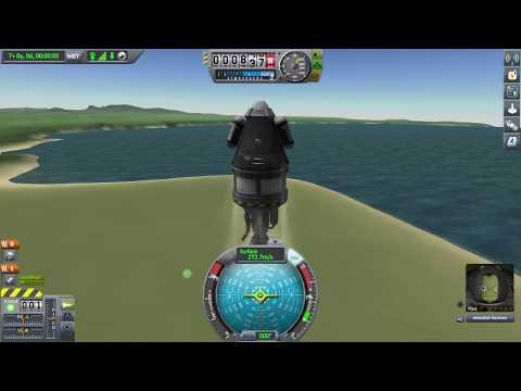 KSP Enhanced-Career Mode Ep1. Orbiting the Mun!