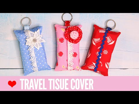 Tissue Cover Pattern - Great for travel tissues