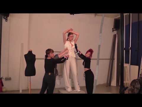 Βackstage Video of Stylist's Portfolio