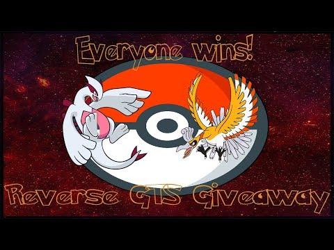 REVERSE GTS Pokemon Ultra Sun and Moon SHINY HO-OH AND SHINY LUGIA TRADES!! (Part 1)