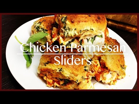 How to make Chicken Parmesan Sliders
