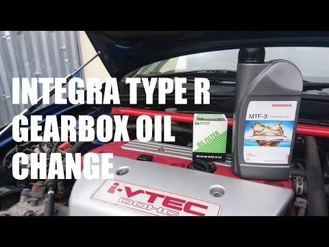 Changing the Gearbox Oil on the Integra Type R - PerformanceCars