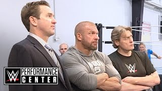 Go inside a tryout at the WWE Performance Center