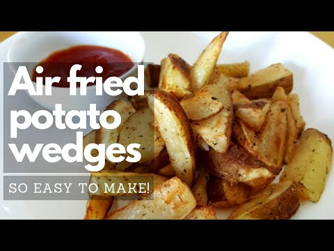 Airfryer Potato Wedges | Easy Air Fryer Recipes