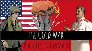 The Cold War: The Four Zones Of Post-war Germany - Britain, America, France And Ussr - Episode 10