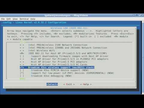 Compilar el kernel a lo Debian