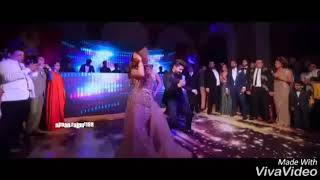 Ravi dubey n sargun mehta wedding dance
