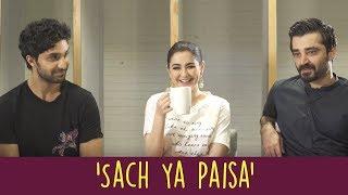 'Sach Ya Paisa' With Ahad Raza Mir, Hamza Ali Abbasi, and Hania Aamir | Parwaaz Hai Junoon | ShowSha