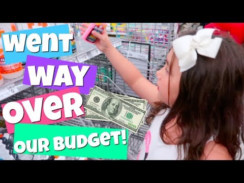 NO BUDGET SLiME SUPPLiES SHOPPiNG CHALLENGE! | Popular Challenges
