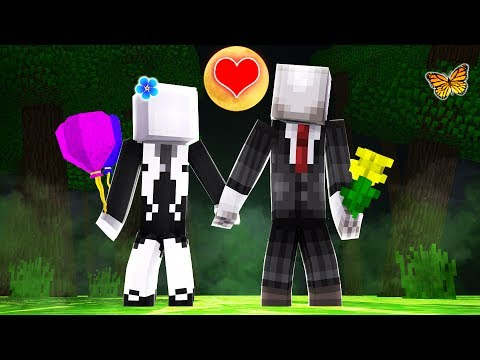 Minecraft Slenderman - SLENDER MAN EATS HIS GIRLFRIEND?!