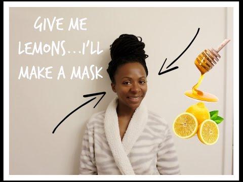 DIY || Fade Dark Marks || Honey & Lemon Mask