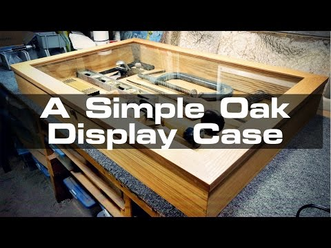 Building a Simple Countertop Display Case