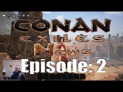 Conan Exiles News Ep:2 Update 22; Dyes, new weapons, decay system and exploit fixes!