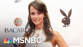 Playmate Alleges Affair With President Donald Trump During Melania Marriage | AM Joy | MSNBC