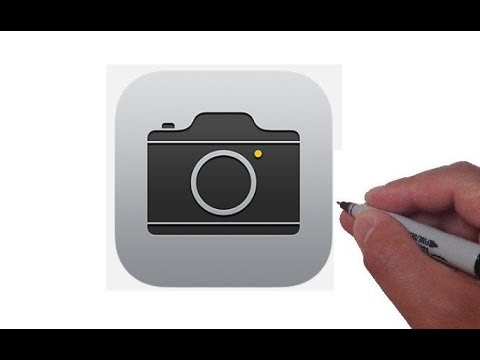 How to Draw the Apple Camera App Logo