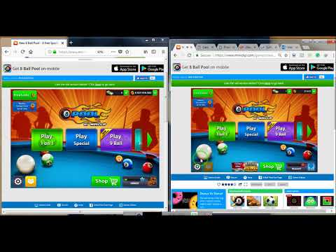 Problems Facing play with Friends challenge in mini-clip 8ballpool
