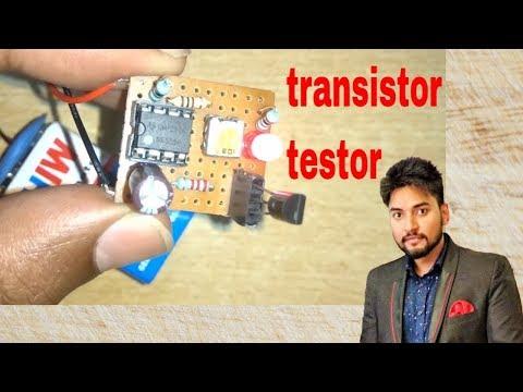 Transistor Tester using 555 Timer IC