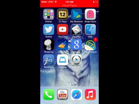 Iphone 5S jailbreak APPS to get you started! Without mobile substrate!