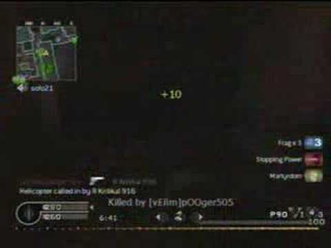 Call Of Duty 4: P90 Montage Hip Firing R Kritikal 916