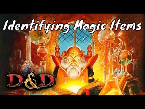 D&D (5e): Identifying Magic Items.