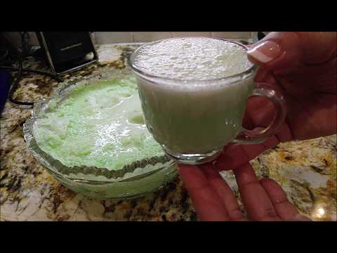 Southern Style Frothy Lime Frappe Punch