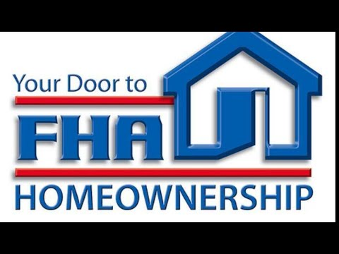 FHA home loan requirements first time home buyer