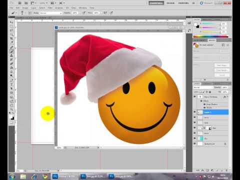 Photoshop - Christmas Card double sided (or any greeting card)