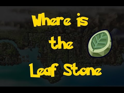 Where Is: The Leaf Stone (Pokemon Heart Gold/Soul Silver)