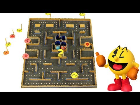 How to make Amazing Game PACMAN 2 from Cardboard  [version - 1] - Amazing Game from Cardboard
