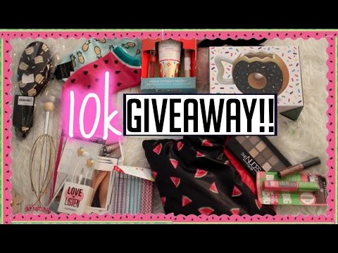 10K Summer Giveaway!! ♡ Ends June 13th CLOSED