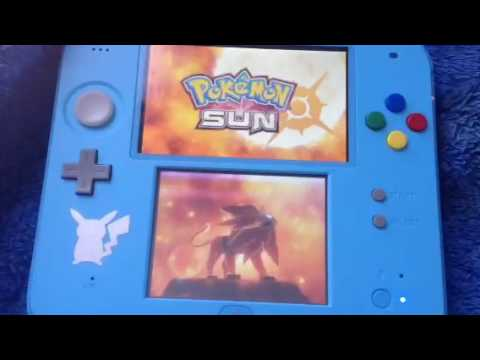 How to restart your game on pokemon sun and moon. And delete saved files.
