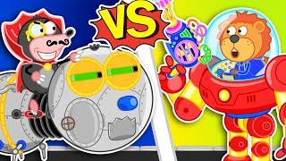 Lion Family Official Channel 🦋 Iron Robot #13. Millipede vs Transformer | Cartoon for Kids