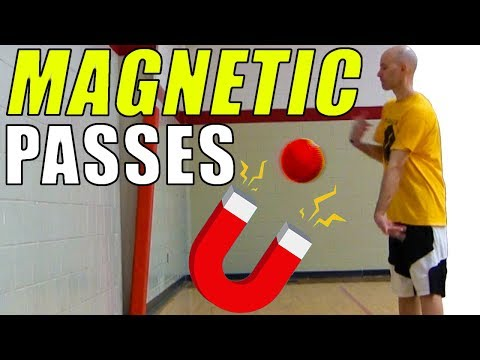 Make MAGNETIC Passes With Ball Spin! Basketball Passing Secrets & Drills!