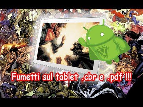 Come leggere fumetti sul tablet in formato CBR e PDF !!!! ArmaDisk ITA