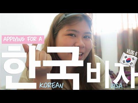 VLOG #6: Applying For A Korean Visa