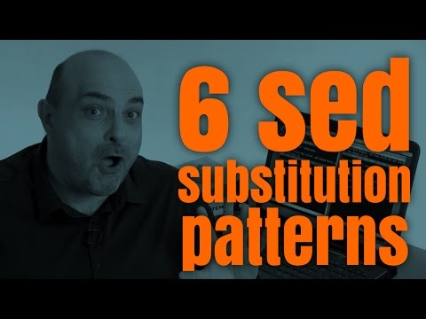 How to use Sed substitutions, from basic to advanced - Yes, I Know IT ! Ep 08