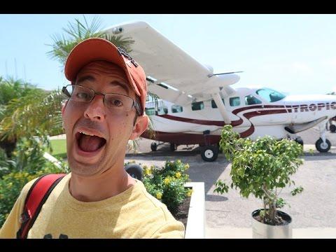 INCREÍBLE VIAJE EN AVIONETA!  San Pedro, Belize
