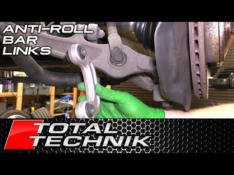 How to Replace Front Anti Roll Bar (Stabilizer) Links - Audi VW Seat Skoda - ALL MODELS (VAG)