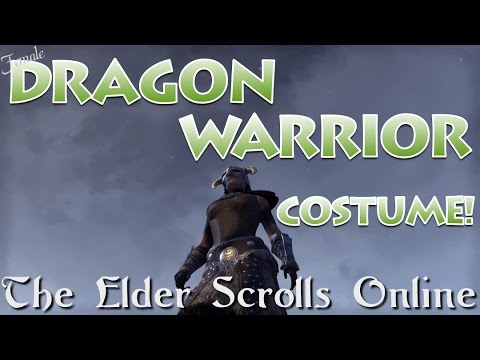Dragon Warrior Costume Female *Dove-Kin* - The Elder Scrolls Online