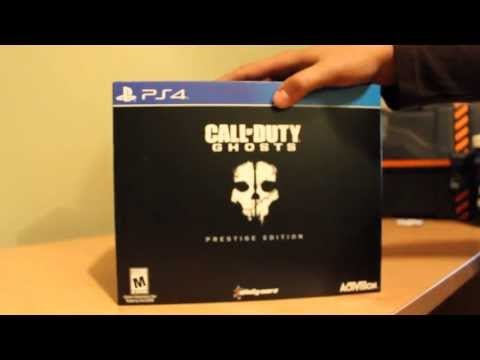 Call of Duty: Ghosts - Prestige Edition Unboxing (PS4)