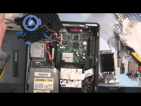 How to install a external graphics card on Dell Optiplex 755 - Dell