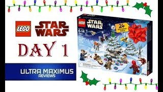 Day 1 Star Wars LEGO Advent Calendar (2018)