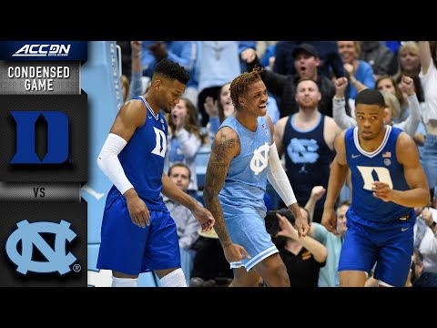 Duke vs North CarolinaCondensed Game | 2019-20 ACC Men's Basketball
