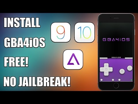 How to Install GBA4iOS (Gameboy Advance) & Games on iOS 9/10 FREE NO JAILBREAK!