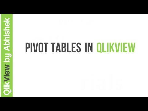 QlikView | Pivot Tables
