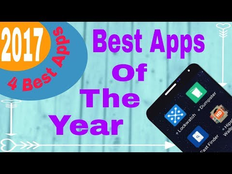 Top 4 Best Android Apps - 2017[apps of the year]